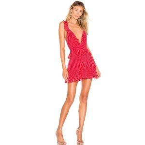 Lovers + Friends Red Libby Mini Dress